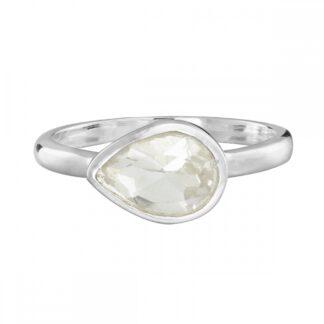 Natural Clear Quartz Ring