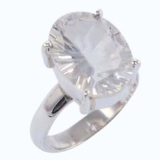 Natural Clear Quartz Ring Price