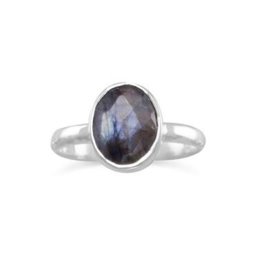 Natural Faceted Labradorite Ring Price