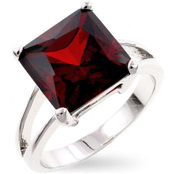 Natural Garnet Ring Price