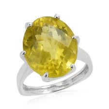 Natural Lemon Quartz Ring
