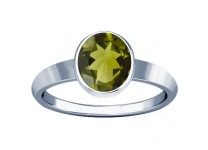 Natural Peridot Stone Ring Price