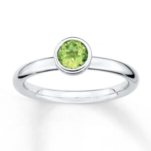 Oval Peridot Ring Price