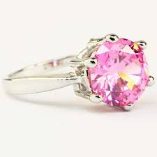 Pink Zircon Ring Price