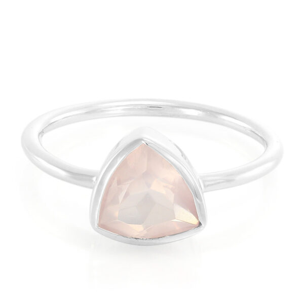 Rose Quartz Stone Ring Price