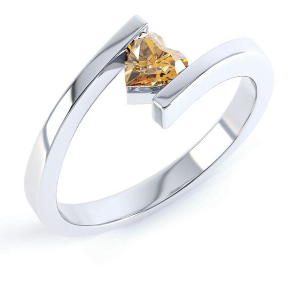 Special Design Citrine Ring Price