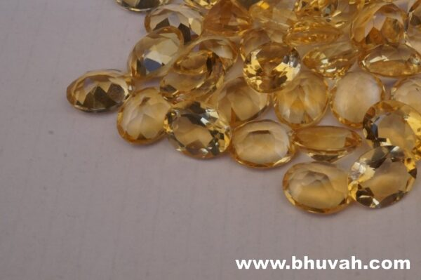 Natural Citrine Oval Cut Stone Per Carat Price 8x10mm