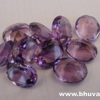 Natural amethyst oval shape cut stone per carat price 8x10mm