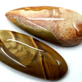 Polychrome Jasper Cabochon Gemstone Stone 2 Pieces Price