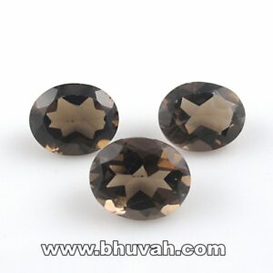Smoky Quartz Oval 16x12 mm Per Carat Price