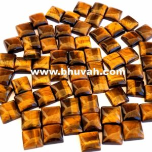 Tiger Eye Square 10x10mm Stone Cabochon Gemstone Price