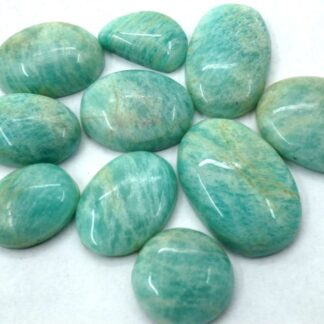 amazonite prices, gemstones, cabochons, 10 pieces stones
