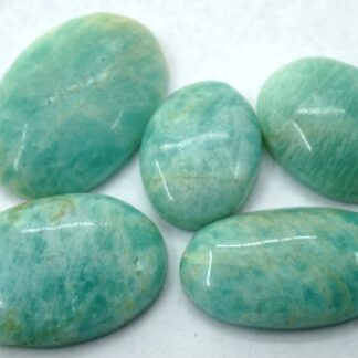 amazonite stone cabochon 5 piece gemstone price