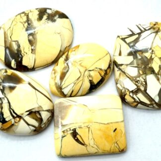 brecciated mookaite cabochon price 5 pieces gemstone stone