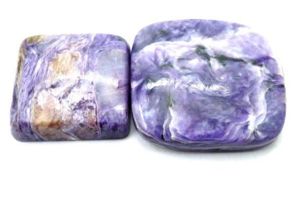 charoite gemstone cabochon stone 2 piece price