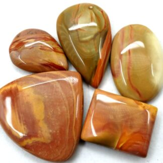 polychrome jasper gemstone cabochon stone 5 pieces price