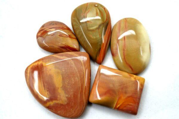 polychrome jasper gemstone cabochon stone 5 pieces price