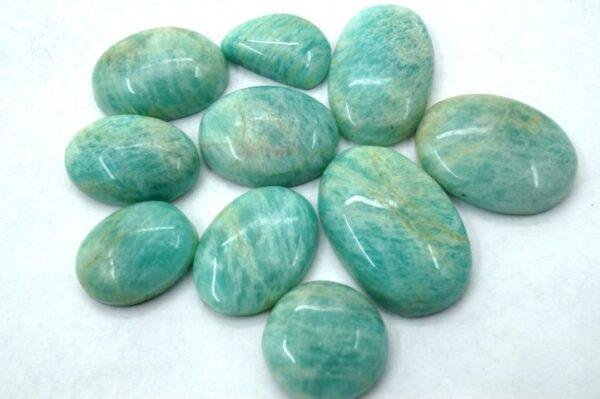 amazonite stone gemstone cabochon 20 pieces price