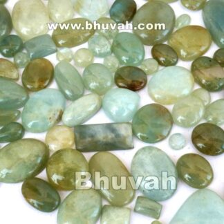 aquamarine stone cabochon gemstone 20 pieces price