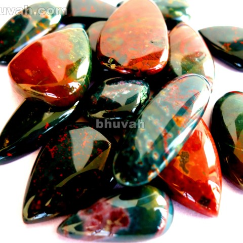bloodstone gemstone cabochon 20 pieces price