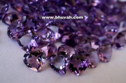 Amethyst Heart Shape 8mm Stone Gemstone Price Per Carat