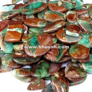 Boulder Chrysoprase Stone Gemstone Cabochon Price Per Kilo