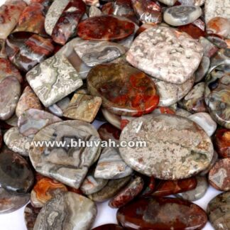Crazy Lace Agate Stone Gemstone Cabochon Price Per Kilogram