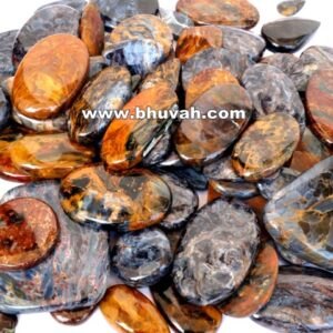 Golden Blue Pietersite Stone Gemstone Cabochon Price Per Kilo