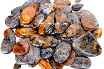 Golden Blue Pietersite Stone Gemstone Cabochon Price Per Kilo