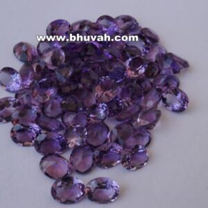 Amethyst 10x8mm Oval Shape Faceted Cut Stone Gemstone Price Per Carat