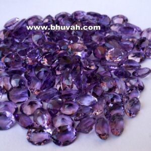 Amethyst 9x7mm Oval Shape Faceted Stone Gemstone Price per Carat