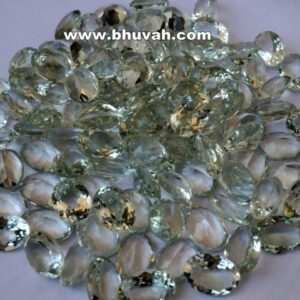 Green Amethyst 14x10mm Oval Shape Faceted Cut Stone Gemstone Price Per Carat